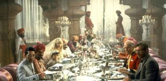 Dinner Scene from 'Indiana Jones and The Temple of Doom.'