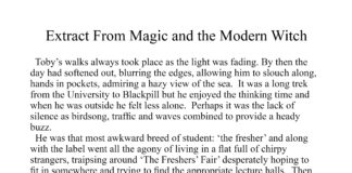 Extract from Magic and the Modern Witch, a short story from the collection: Heart Strings.