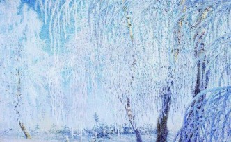 The Frost by Igor Grabar, 1905. I love this picture, so magical but I can feel the cold!