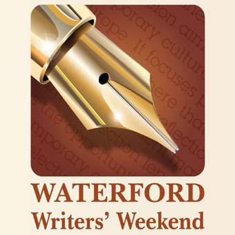 Waterford Writers' Weekend offers an entertaining and diverse programme including workshops, panel discussions and readings.