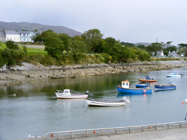 Boats in Schull Harbour.