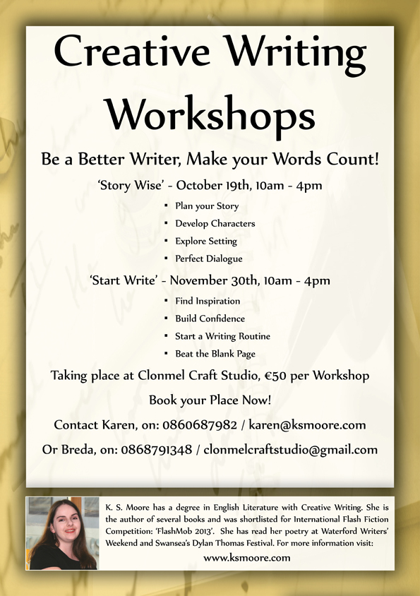 Creative Writing Workshops in Clonmel