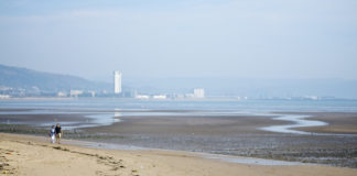 Swansea Bay.