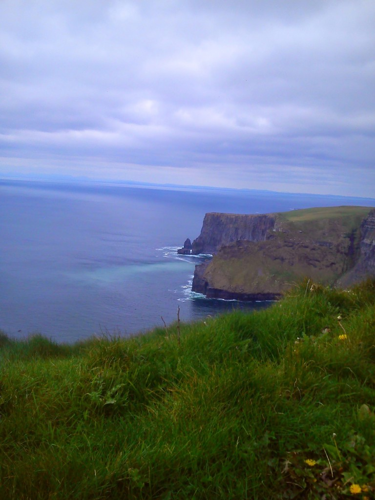 Hag's Head at The Cliffs of Moher, County Clare.