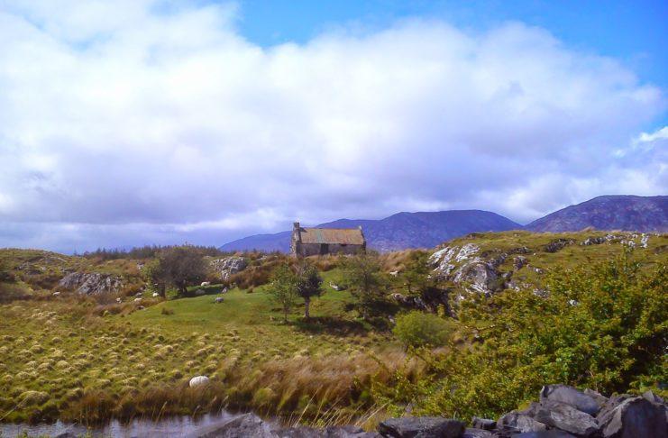 Connemara scene.