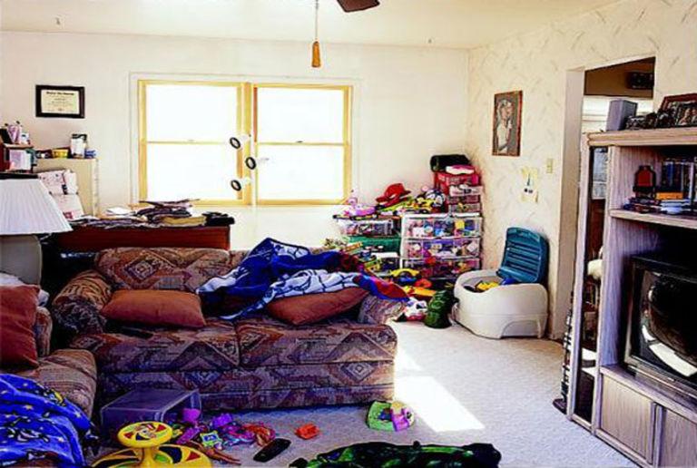 Organising Clutter.