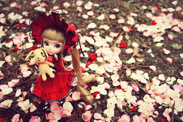 Doll and Petals