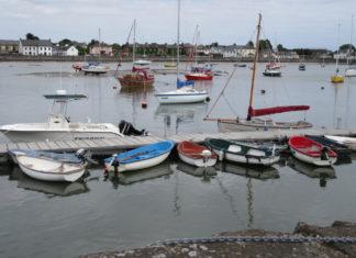 Fishing boats at Dungarvan.