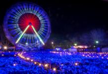 Big Wheel at Night.