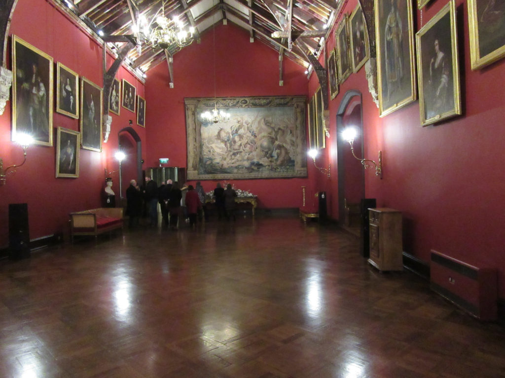 Kilkenny Castle's famous Picture Gallery